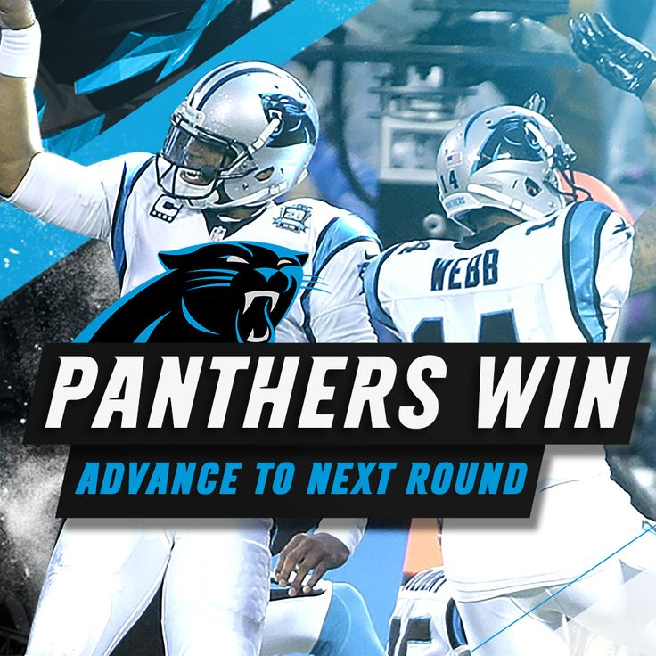 #PANTHERS WIN! #AZvsCAR so proud of my team! Now on to Seattle!
