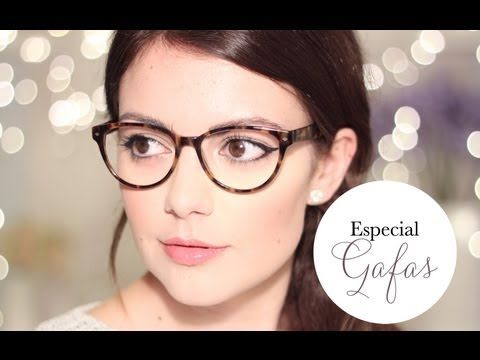 2 maquillajes especial gafas ☆ - YouTube