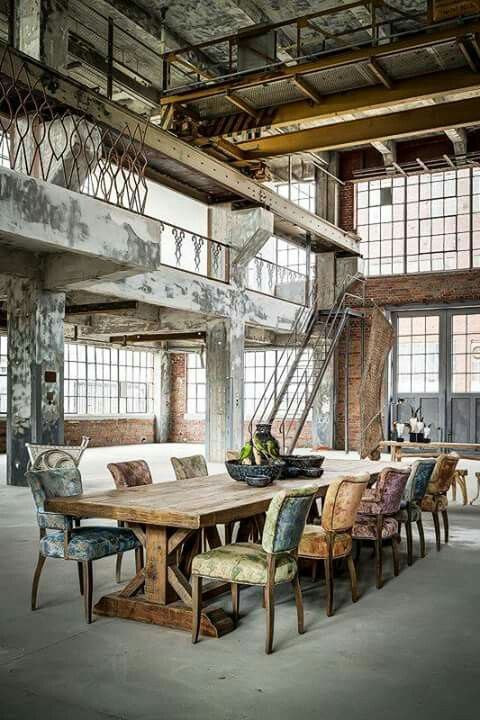 Warehouse dining