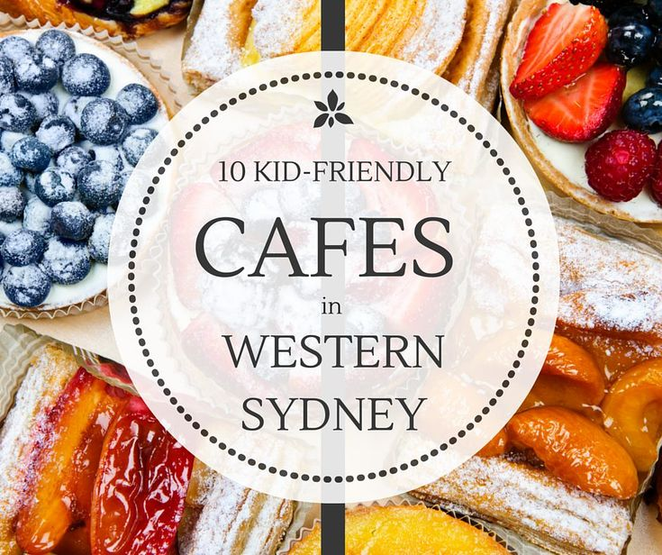 8 of the best child-friendly cafes in Western Sydney listed here. Some have play areas, others are in playgrounds, all work well for kids and parents too.