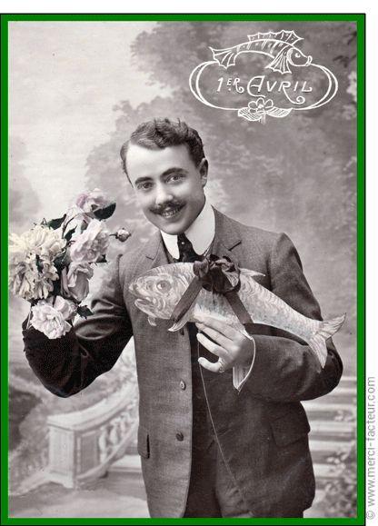 Joyeux 1er avril ! Profitez du 1er avril pour faire des farces à vos amis émoticône smile http://www.merci-facteur.com/cartes/rub32-1er-avril.html #poissondavril #1eravril #humour Carte Un bouquet et un poisson d'Avril pour envoyer par La Poste, sur Merci-Facteur !