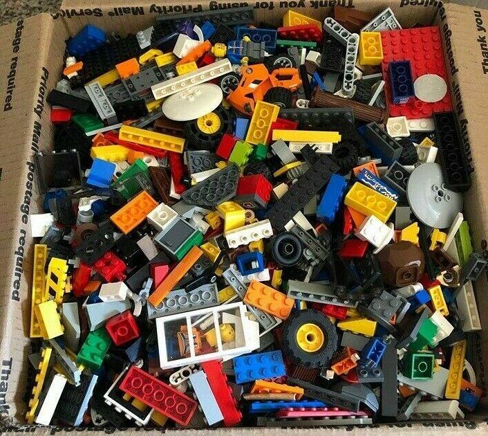 etc castle 2 POUNDS OF LEGOS Bulk lot Bricks Parts Pieces Lego Star Wars City