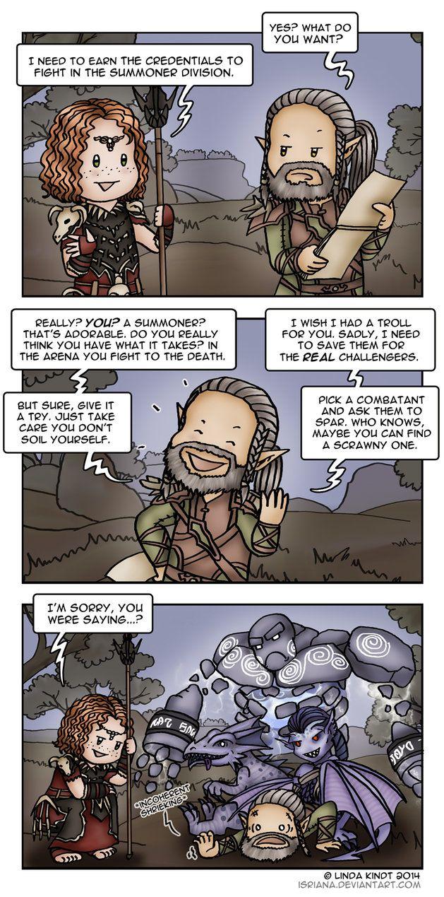 Art inspired by The Elder Scrolls game series. ♥ The Elder Scrolls III…