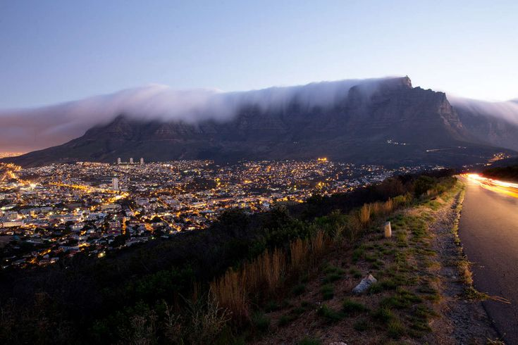 Table Mountain, Cape Town, South Africa A place to meditate on freedom, and the creative life that followed.