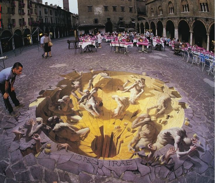 Incredible 3D Street Painting
