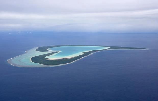 Tupai, heart-shaped island, Bora Bora, French Polynesia - Beautiful