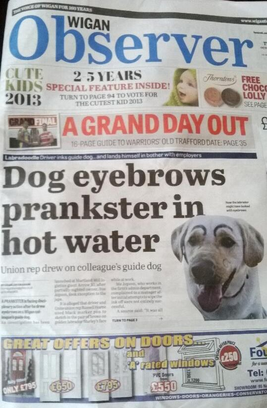 The titan of journalism responsible for this scoop. | 29 People Who Make You Proud To Be British