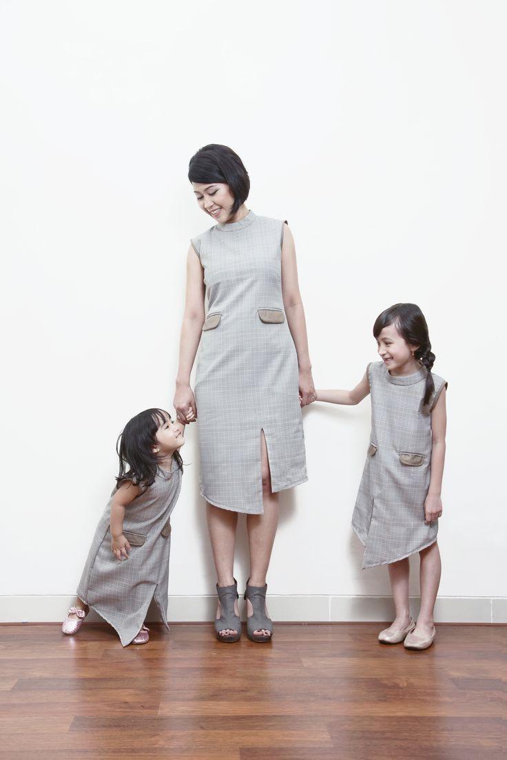 Kimiko Tweed Dress
