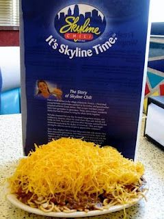 Skyline Chili! Only my fav food ever. Thank you Chase for introducing me to this yummyness :)