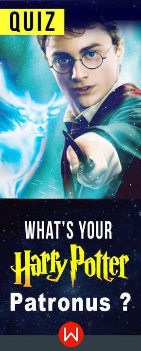 Patronus quiz. This is a quiz about Harry Potter that will determine which patronus you should have. Expecto Patronum!