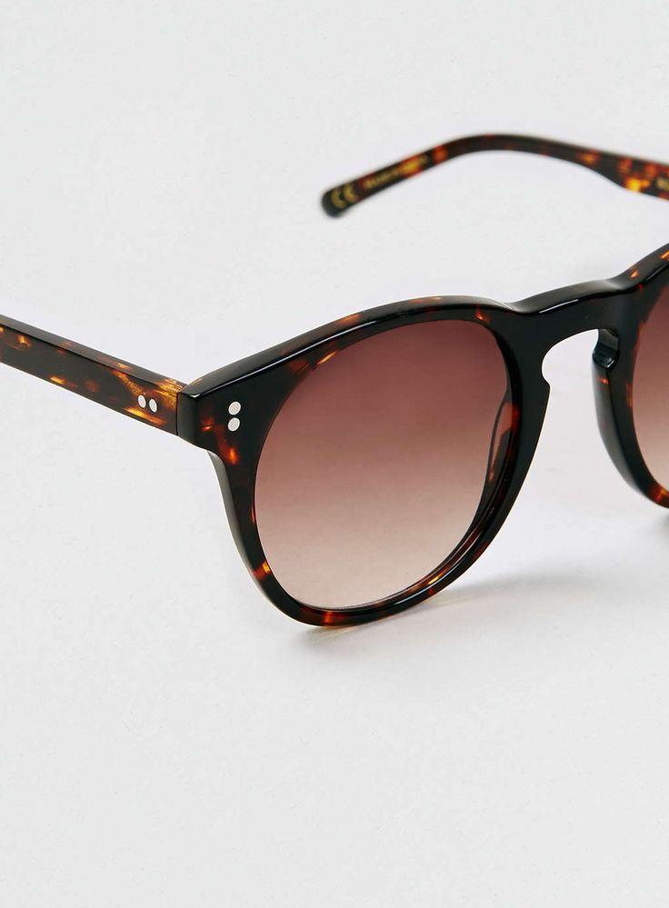 Topman LTD x Eye Respect dark tortoise shell sunglasses
