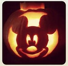Image result for Easy Mickey Mouse Pumpkin