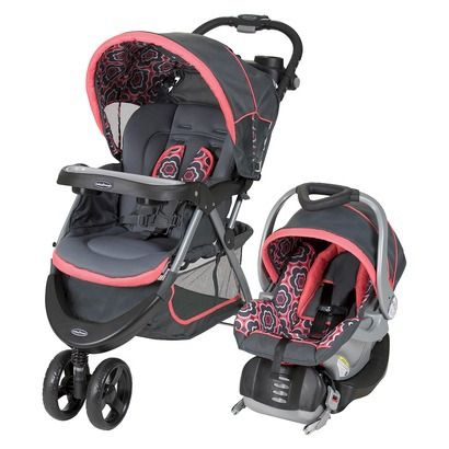 Girl - Baby Trend Nexton Travel System - Target - $170