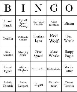 ESD Bingo