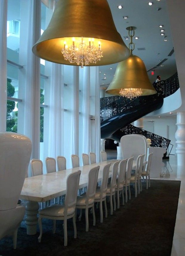 Luxury Restaurant Hospitality Interior Design Of Asia De Cuba Miami