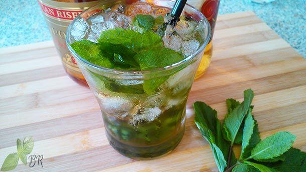Cognac Julep Cocktail, reteta de cocktail cu alcool