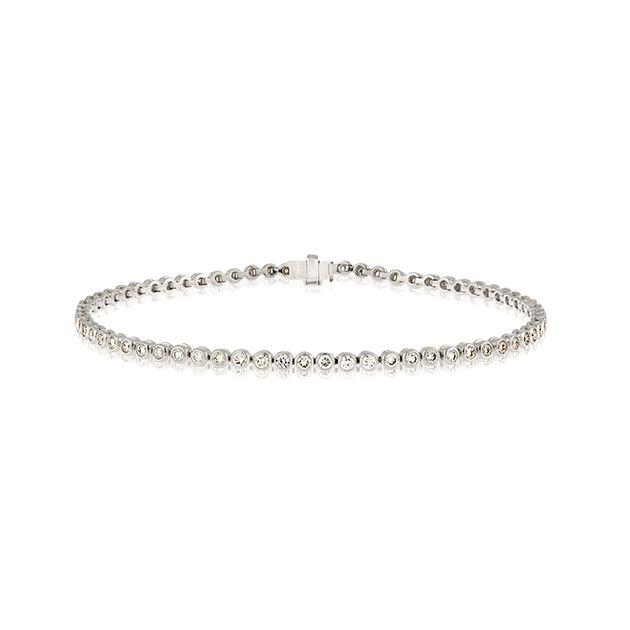 18ct White Gold Bracelet