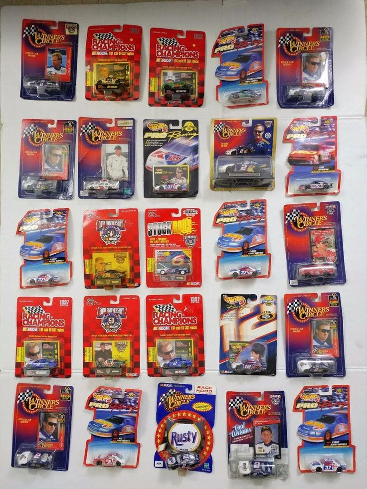 25 Vintage 1997-99 Die Cast Super Stars NASCAR Racing Cars Mixed Lot #WinnersCirleRacingChampionsHotwheels