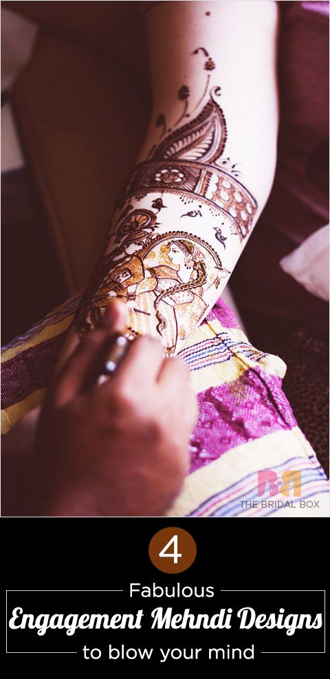 4 Fabulous Engagement Mehndi Designs To Blow Your Mind
