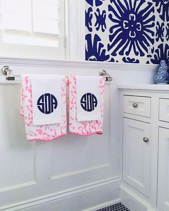 Best 25+ Monogram towels ideas on Pinterest | Monograms ...