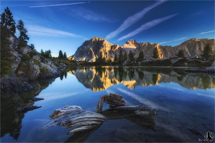 Photo Dolomites Sunrise by Nicholas Roemmelt on 500px