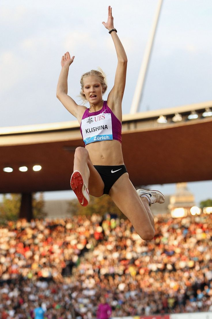 Darya Klishina  2010 Weltklasse Zürich