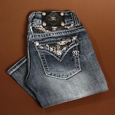 Miss Me Multi Rhinestone Jeans