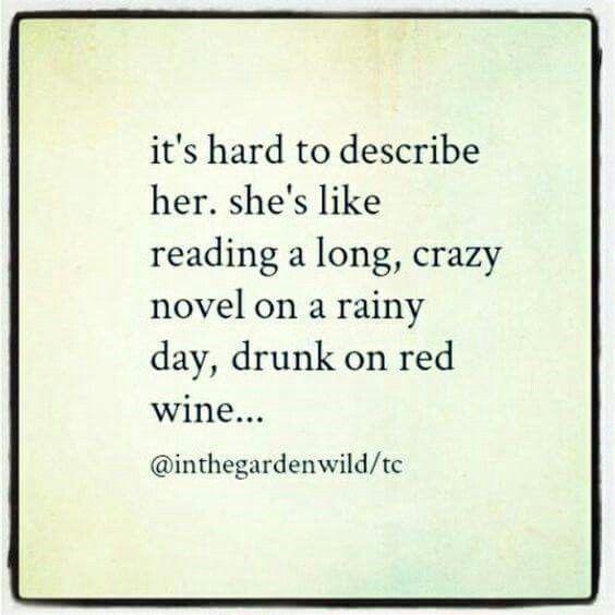 Like a fine red wine...