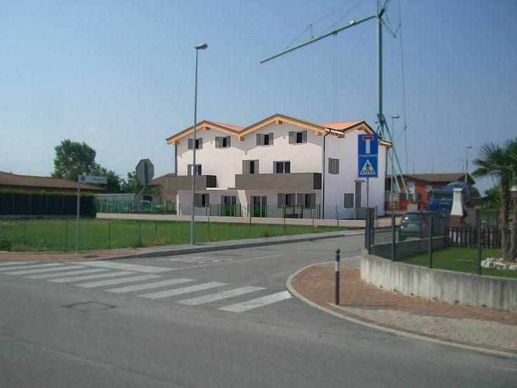 Foto inserimento di un condominio a Vigonza