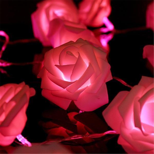 Roses Rosebud Fairy Boho LED String Lights - GoGetGlam  - 6
