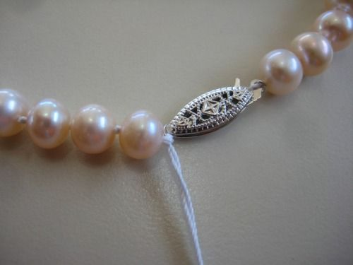 Learn how to knot pearls or restring pearls...yes, it's possible!