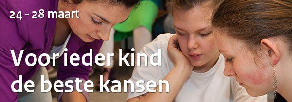 Voor ieder kind de beste kansen | Week van passend onderwijs