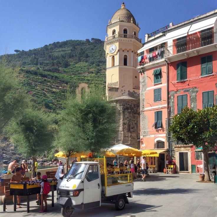 Vernazza, uma das cidades das Cinque Terre...