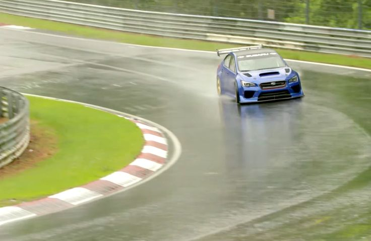 The new Subaru WRX STI Type RA NBR Special looks to set a new Nürburgring lap record for a four-door sedan. Check out the video.