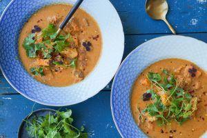 Vietnamesisk suppe med kylling