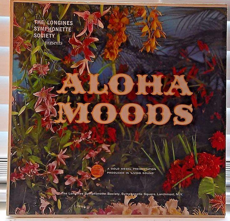 The Longines Symphonette Society presents Aloha Moods Vinyl Lp Record #Folk