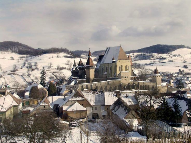 Biertan, the pearl of the Saxon villages with fortified churches from Transylvania. UNESCO Heritage Site.