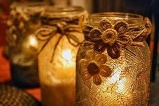 ΚΑΤΑΣΚΕΥΕΣ: ΦΑΝΑΡΑΚΙΑ - κηροπήγια από ΑΔΕΙΑ ΒΑΖΑ | ΣΟΥΛΟΥΠΩΣΕ ΤΟ