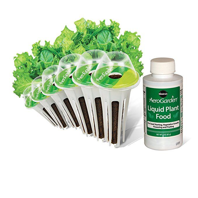 Aerogarden Salad Greens Mix Seed Pod Kit 6 Pod The 640 x 480