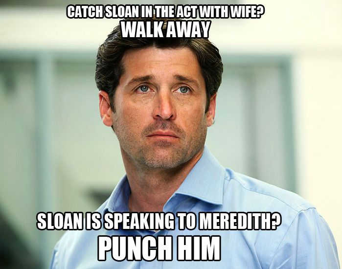Grey's Anatomy <3 Derek Shepherd logic - NEW SEASON STARTS TONIGHT!!!!!!!!!!!!!!!!!!!