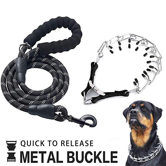 Ospet Dog Prong Collar Professional Dog Pinch Training Collar