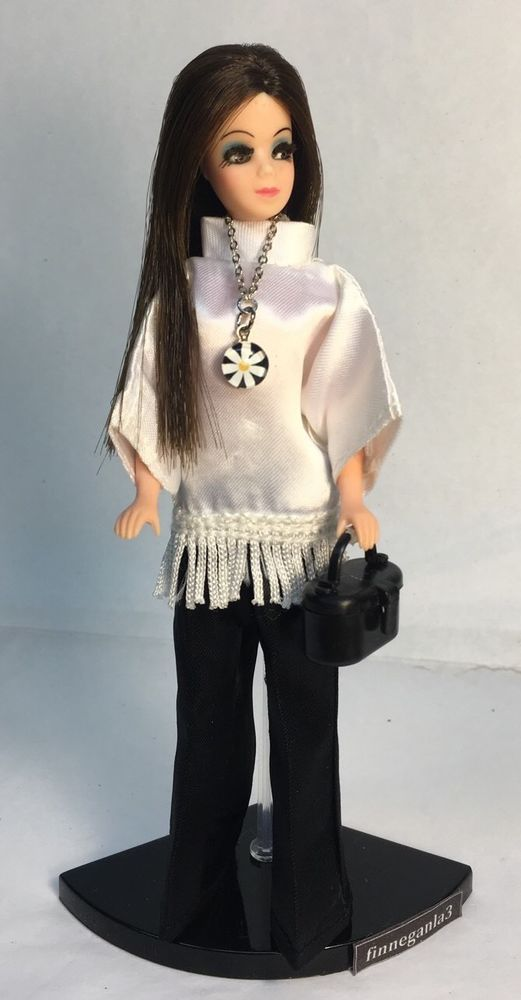 Vintage Topper Dawn Doll Angie P10 in Vintage Peggy Ann Fashion w Accessories | eBay