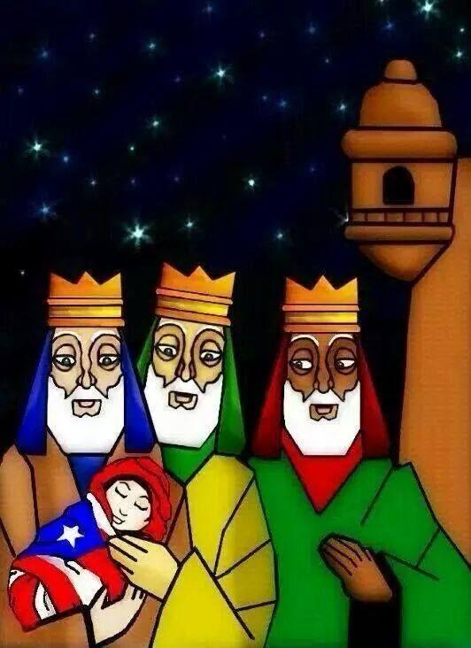 Tres reyes magos. | Navidad Boricua / Puerto Rican ...