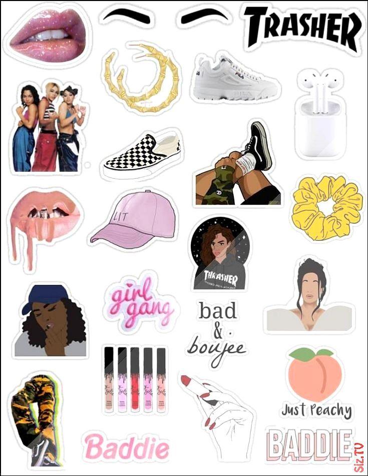 Insta Baddie Stickers Insta Baddie Stickers Lea Save Images Lea