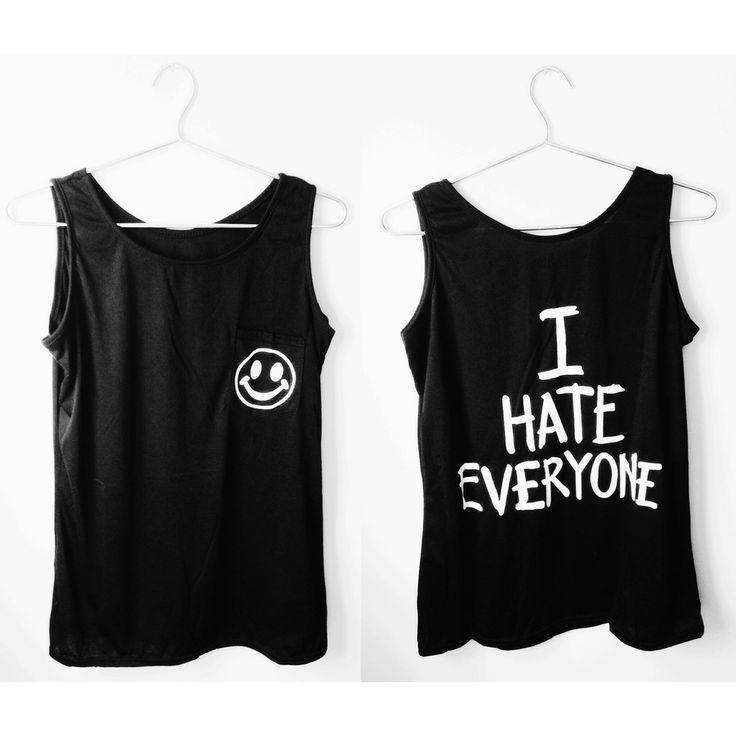 I Hate Everyone Tank | Moon Shine Apparel