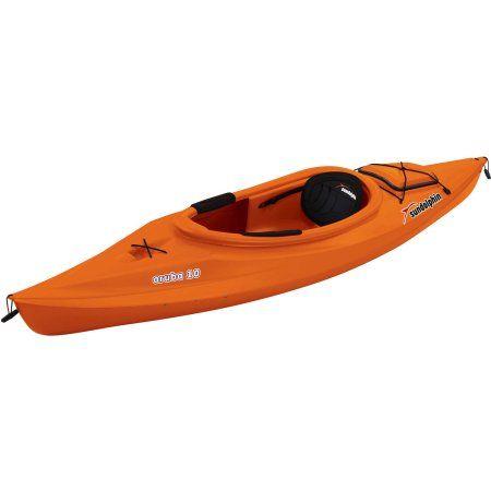 Sun Dolphin Aruba 10' Sit In Kayak, Paddle Included $188.00 Walmart.com 2016