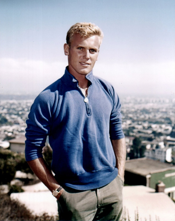 Tab Hunter- one of the hottest actors of all time!  16 Celebrities Then & Now