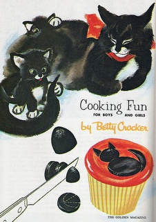 Cooking Fun for Boys and Girls (and Cats too) Betty Crocker (via: Catsparella)