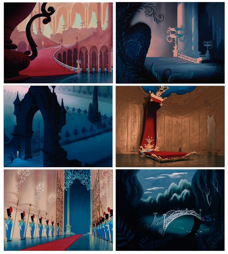 cinderella 1950 THE GARDEN!!! MY FAVORITE SCENE AND ANIMATION MOMENT IN THE WHOLE FILM!! I will have to have a lovely bridge over a creek or narrow piece of lake