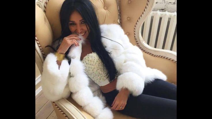 Woman In White Fox Fur Part 26